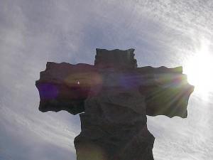 cross and sun